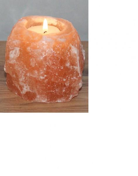salzkristall salzbrocken salzlampe himalaya salz teelicht leuchte 1 2 kg 1319 salzprodukte. Black Bedroom Furniture Sets. Home Design Ideas